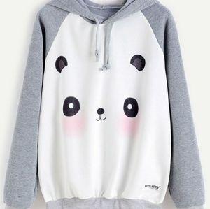 Kawaii Panda hoodie with string...Soooo cute!
